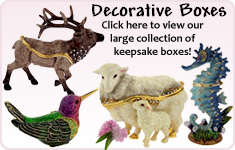 Offering a great selection of presentation and trinket boxes.