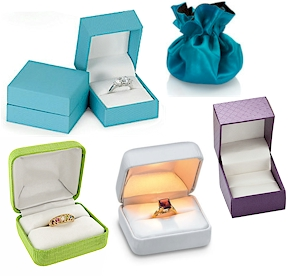 Jewelry- Ring boxes to hold a special keepsake.