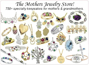 Just a sampling of the mother's jewelry items we offer.